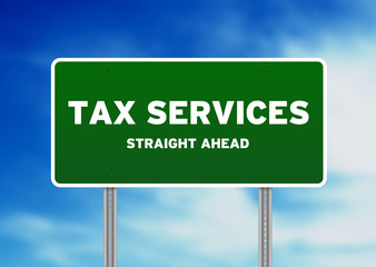 Tax Services Highway Sign