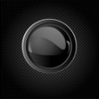 Black  background with button