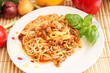 spaghettis Bolognese