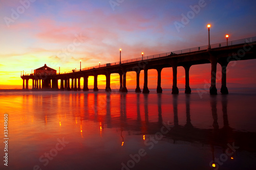 Manhattan Beach Pier - 33449650