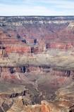grand canyon arizona usa showing strata and geology poster