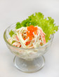 Japanese food - caviar salad
