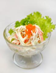 Japanese food - caviar salad