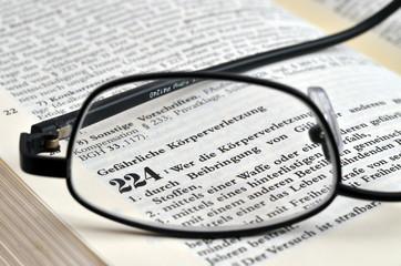 Gefährliche Körperverletzung im Strafgesetzbuch