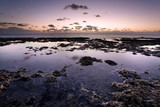 Tide pools at sunrise, Miami's Bear Cut Preserve on Key Biscayne