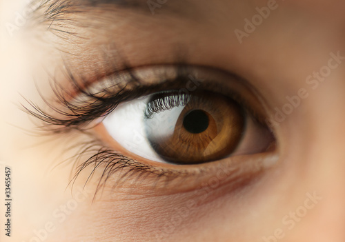Child's human Eye - Macro - close up