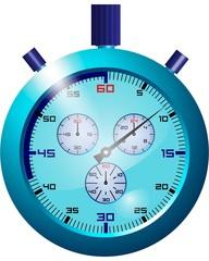 Chronografo Vector Blu