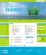 Website Template - Ozean green