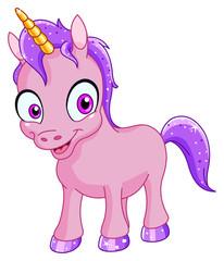 Smiling unicorn