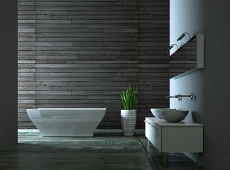 Wohndesign - modernes Bad