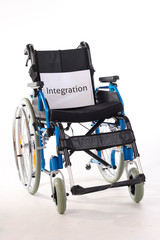 schild integration rollstuhl