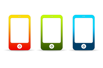 Colorful Mobile Phones