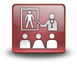 "Red 3D Effect Icon ""Health Education"""