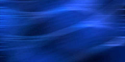 Blue wavy abstract image graphic background