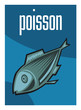 Poisson, poissonnerie, supermarché, aliment, grande surface