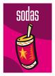 Soda, boisson, liquide, supermarché, aliment, grande surface