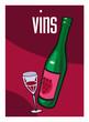 Vin, bouteille, alcool, supermarché, aliment, grande surface