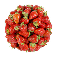 strawberry bunch