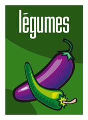 Légumes, vert, bio, supermarché, aliment, grande surface