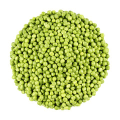 green peas bunch