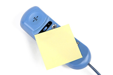 Telephone and notepaper