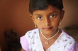 Portrait of Cute Indian Little Girl