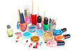 Nail polishes and  glitters