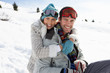 Young Couple On Winter Vacation