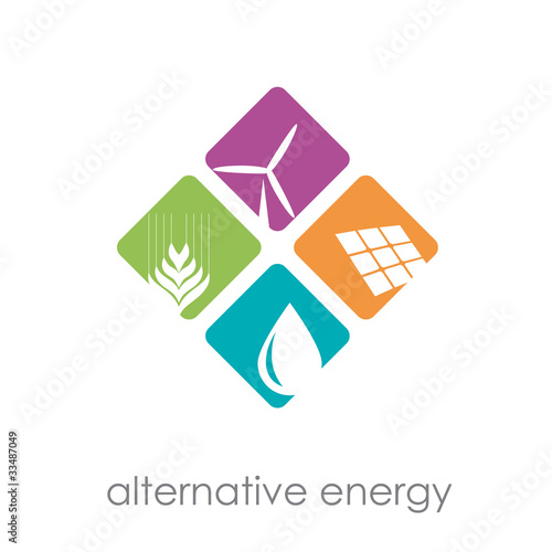Logo alternative energy # Vector