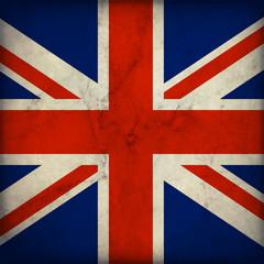 Bandiera dell'Inghilterra in stile vintage
