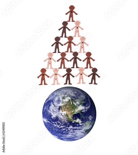 World Population Holiday Concept