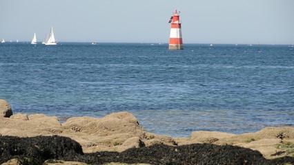 Côte atlantique à Port-Louis (Morbihan)