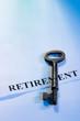 obraz - Key to Retirement