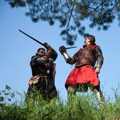 knights tilting