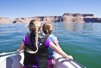Boat ride on Beautiful Lake Powell