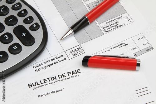 Bulletin de paie - 33501897