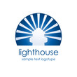 Logo lighthouse # Vector