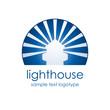 Logo lighthouse # Vector