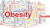 Obesity fat background concept poster