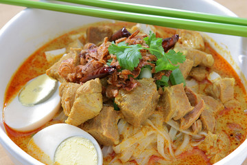 Curry Noodle (Muslim food)