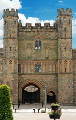 Front entrance Battle Abbey Battle England