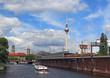 Berlin Torusimus Wahrzeichen vom Wasser aus