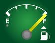 detailed gas gage illustration