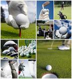 Fototapety Golf concept