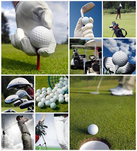 Golf concept