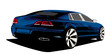exclusive sedan car prototype