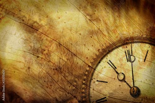 Zeit – nostalgischer Vintage Hintergrund