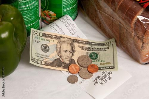 Grocery Bill - 33517273