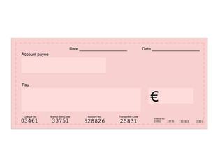 Euro cheque