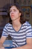 Intense Looking Teen Boy poster